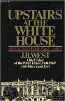 Book Cover - Upstairs at the White House
