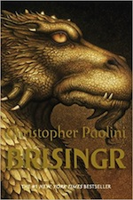 Book Cover - Brisinger by Christopher Paolini