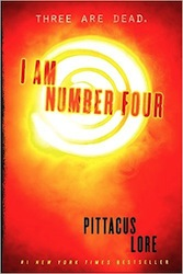 Book Cover - I am Number Four by Pitticus Lore