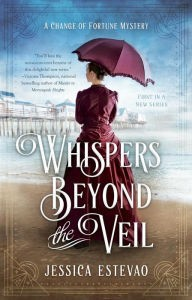 Book Cover - Whispers Beyond the Veil - Jessica Estevao